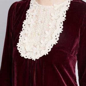 5dc4200f6906d Anna Sui Dresses | Modcloth X Charisma Calls Velvet Dress | Poshmark